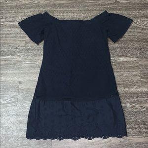 LOFT Off- shoulder Dress